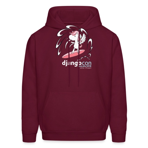 DjangoCon Australia 2018 - Men's Hoodie