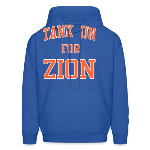 Tank On For Zion - Men's Hoodie