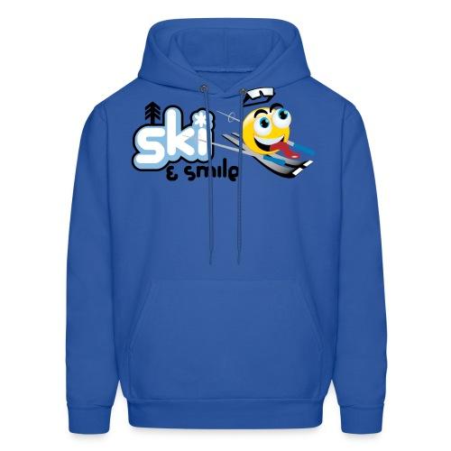 Smile And Ski - Men's Hoodie