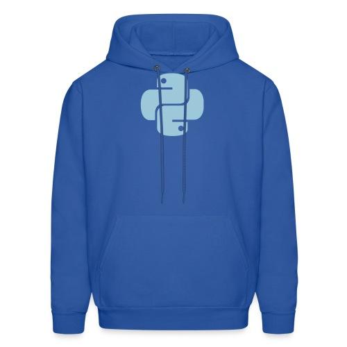 Python Logo - Men's Hoodie