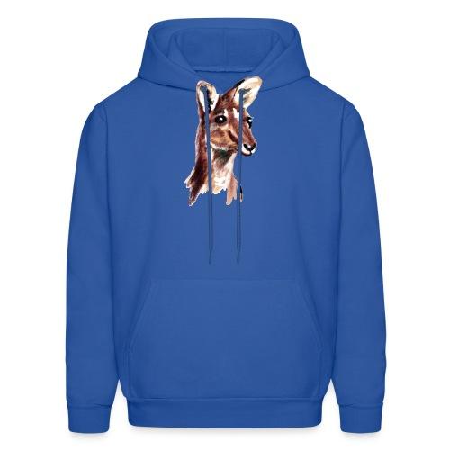 kangaroo face - Men's Hoodie