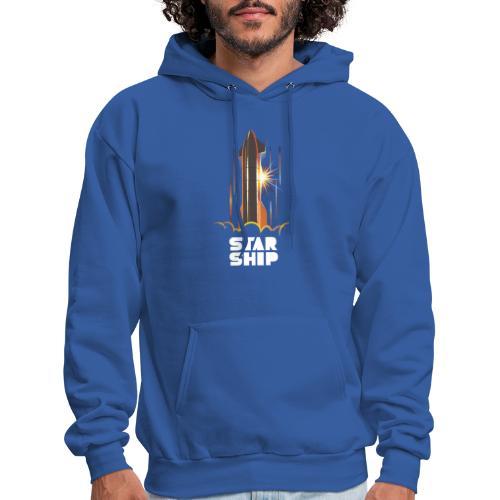 Star Ship Mars - Dark - Men's Hoodie