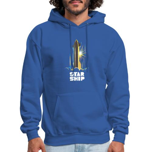 Star Ship Earth - Dark - Men's Hoodie