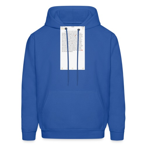 Text from a Football Commit - Men's Hoodie