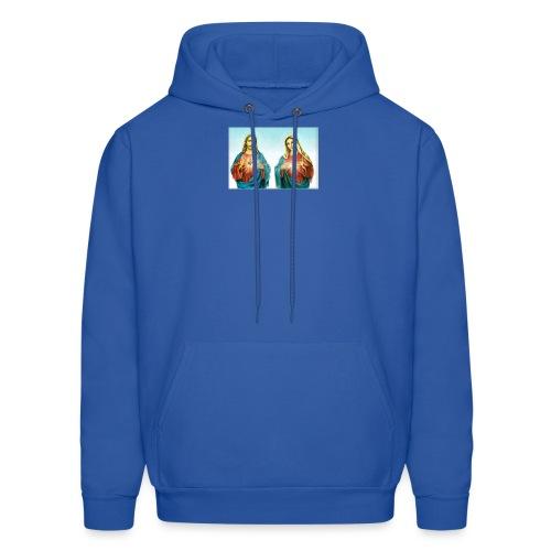 Jesus and Mary - Men's Hoodie