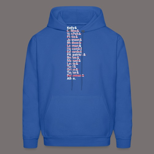 Buffalo Franchise Quarterbacks - Men's Hoodie