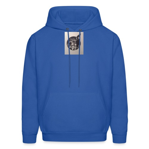 Wolf and Eagle - Men's Hoodie