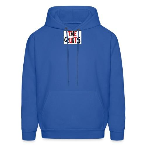 quits logo - Men's Hoodie
