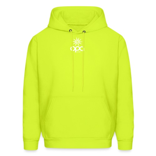 Hoodie with small white OPA logo - Men's Hoodie