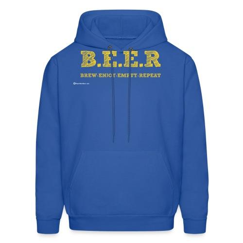 BEER Brew Enjoy Empty Repeat - Men's Hoodie