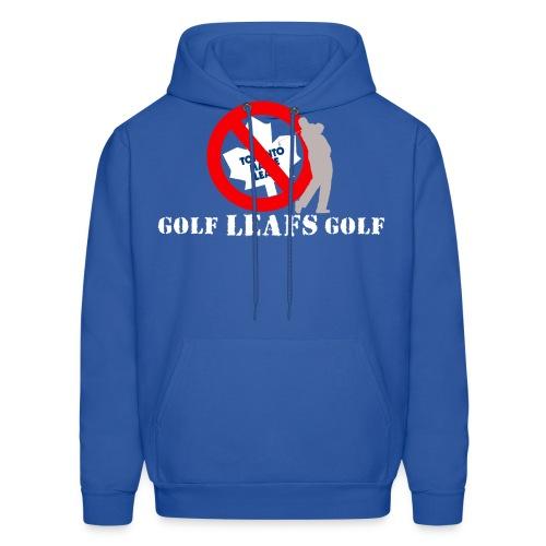 golfleafsgolf darkcoloredshirts - Men's Hoodie