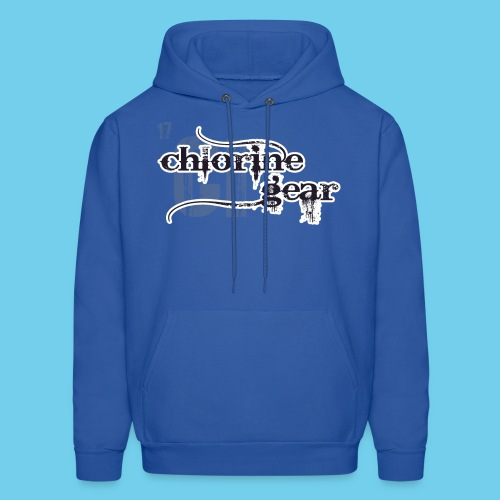 Chlorine Gear Textual stacked Periodic backdrop - Men's Hoodie