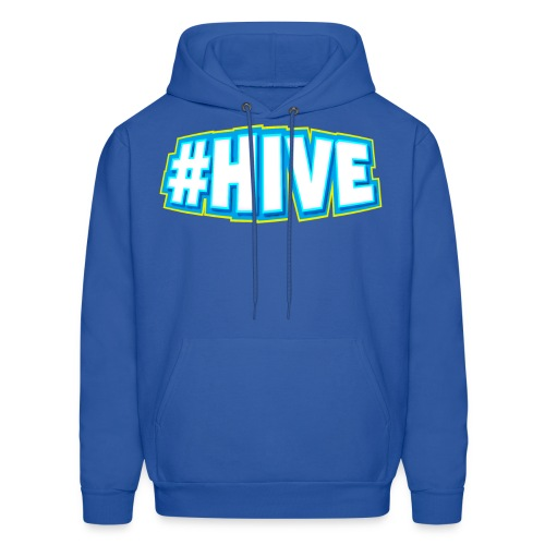 Hashtag Hive png - Men's Hoodie