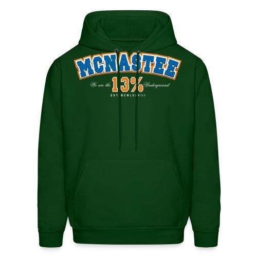mcnasteeathletictee - Men's Hoodie