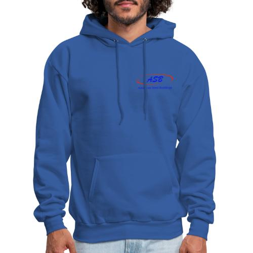 Color Logo Initials With Name - Men's Hoodie