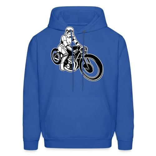 Stormtrooper Motorcycle - Men's Hoodie