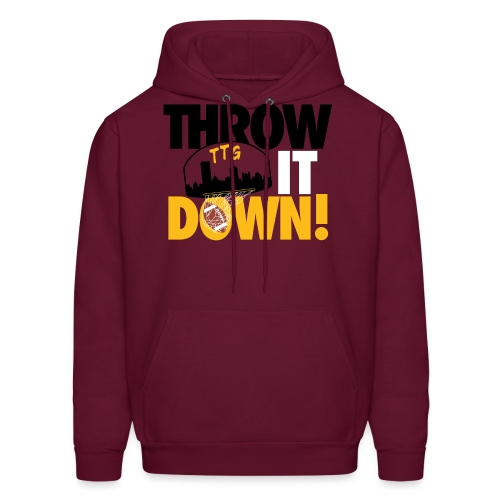 Throw it Down! (Turnover Dunk) - Men's Hoodie