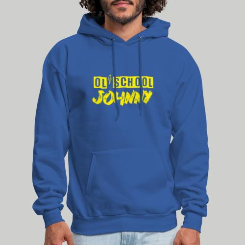 Ol' School Johnny Logo in Yellow - Men's Hoodie
