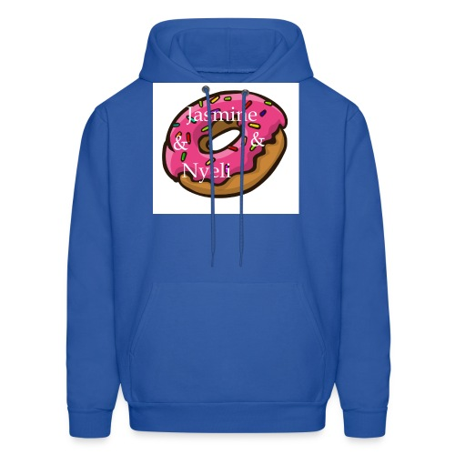 A cute donut W/ our channel name - Men's Hoodie