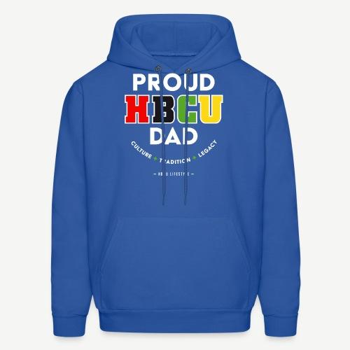 Proud HBCU Dad RGB - Men's Hoodie