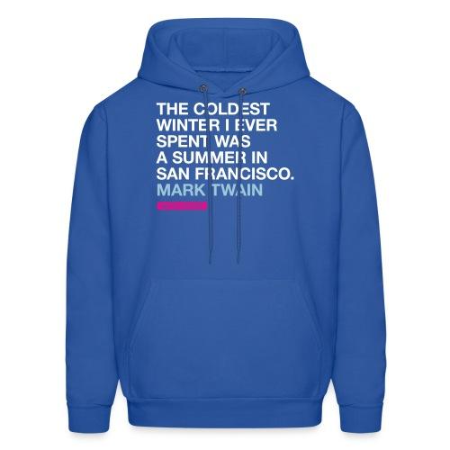 The coldest winter (men -- bags -- big) - Men's Hoodie