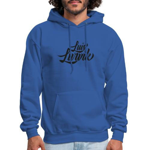 Luis Lurvik logo negro - Men's Hoodie