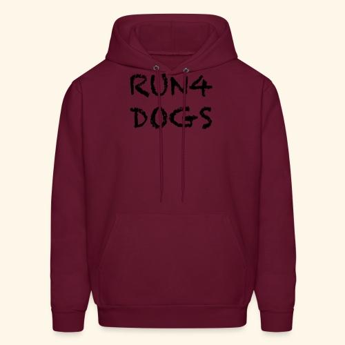 RUN4DOGS NAME - Men's Hoodie