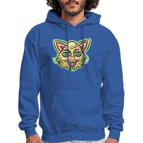 Happy Cat Gold - Men's Hoodie