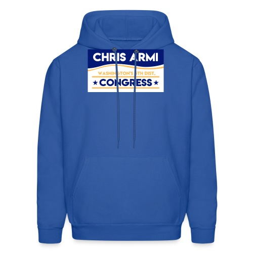 Chris Armi Sign - Men's Hoodie