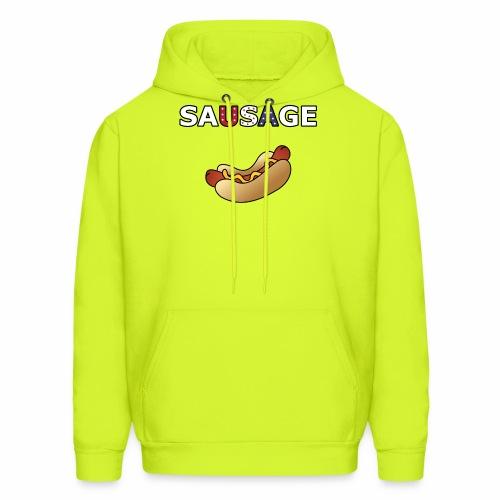Patriotic BBQ Sausage - Men's Hoodie