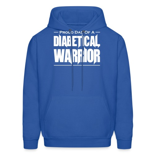 Proud Dad Of A Diabetical Warrior - Men's Hoodie
