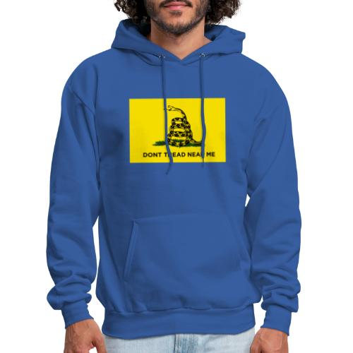 DONT TREAD NEAR ME Gasden Flag - Men's Hoodie