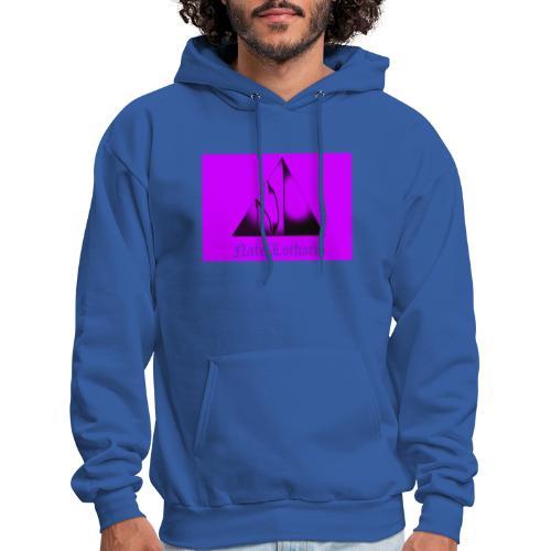 Purple Logo 2 - Men's Hoodie