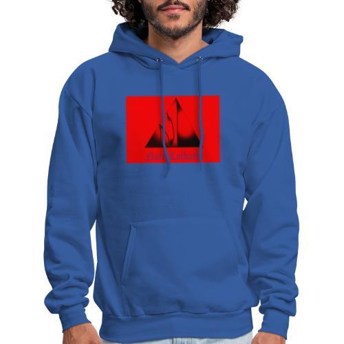 Red Logo 3 - Men's Hoodie
