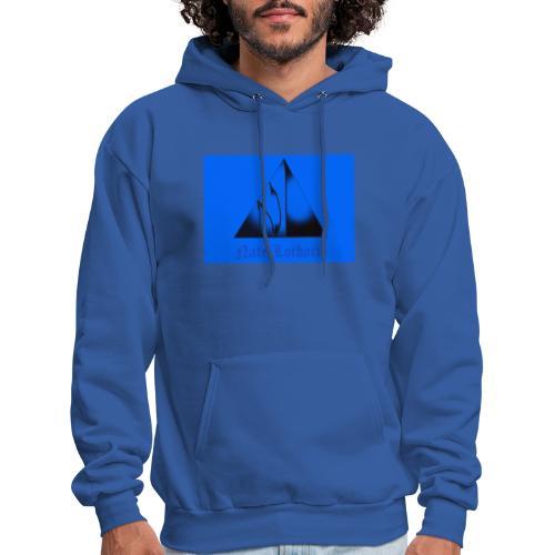 Light Blue Logo - Men's Hoodie