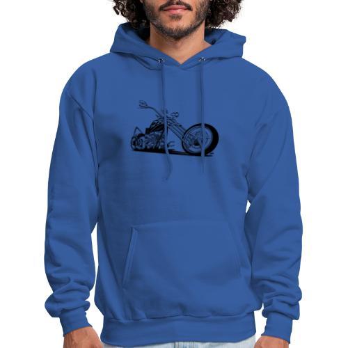 Custom American Chopper Motorcycle - Men's Hoodie