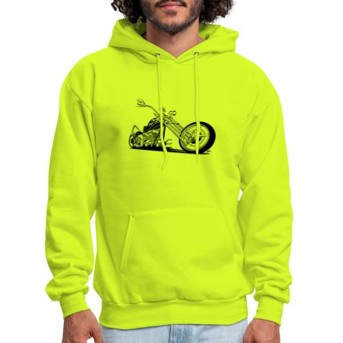 Custom American Chopper Motorcycle - Men's Hoodie
