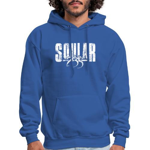 Soular235 White Logo - Men's Hoodie