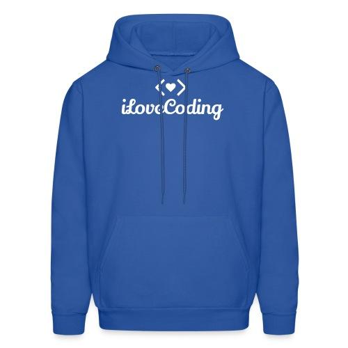I Love Coding - Men's Hoodie