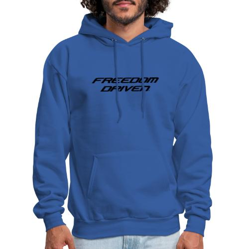 Freedom Driven Official Black Lettering - Men's Hoodie