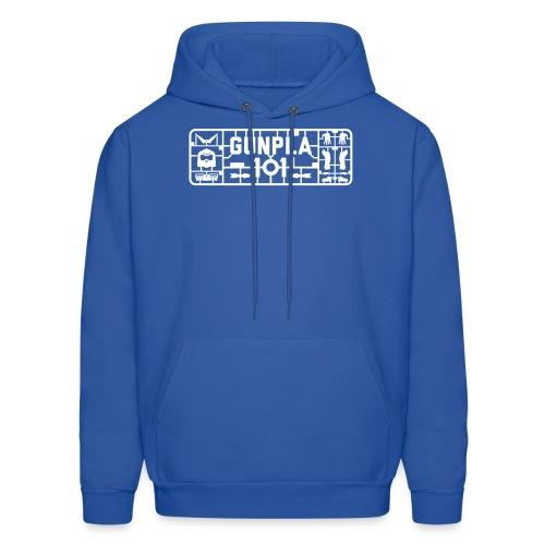 Gunpla 101 Men's T-shirt — Zeta Blue - Men's Hoodie