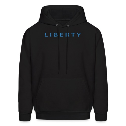 Liberty Libertarian Design - Men's Hoodie