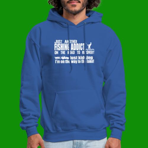 FISHING ADDICT - Men's Hoodie
