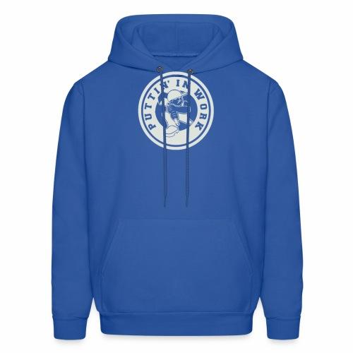 P.I.W White Logo - Men's Hoodie