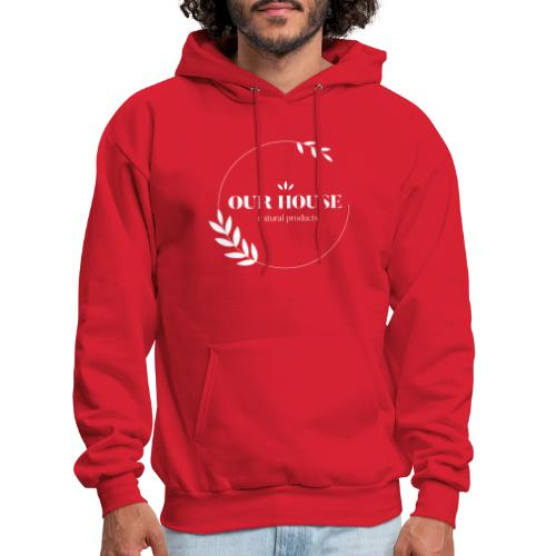 Our House Natural Products Logo - Men's Hoodie