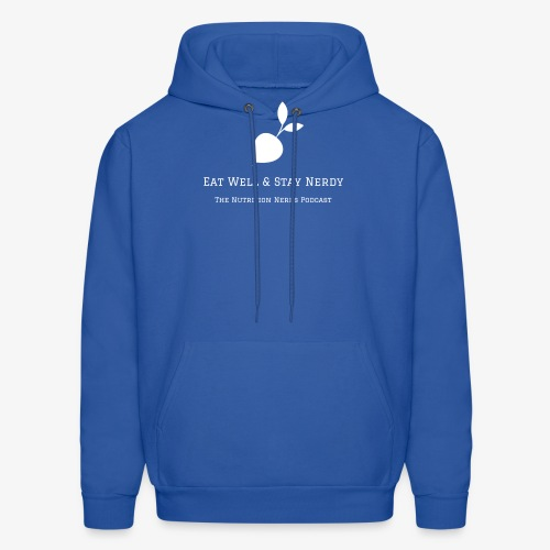 Eat Well & Stay Nerdy with Radish - Men's Hoodie
