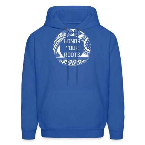 Honor Your Roots (White) - Men's Hoodie