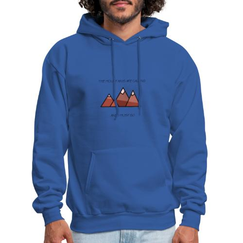 The Mountains - Men's Hoodie