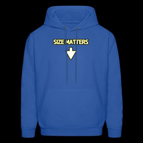 Size Matters - Guys - Men's Hoodie