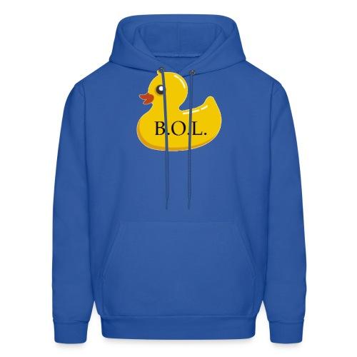 Official B.O.L. Ducky Duck Logo - Men's Hoodie